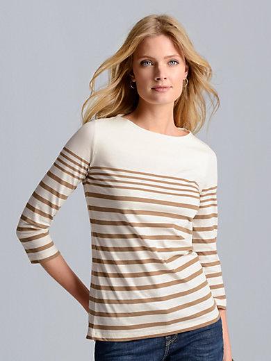 Bogner - Shirt mit 3/4 Arm und Ringel-Dessin