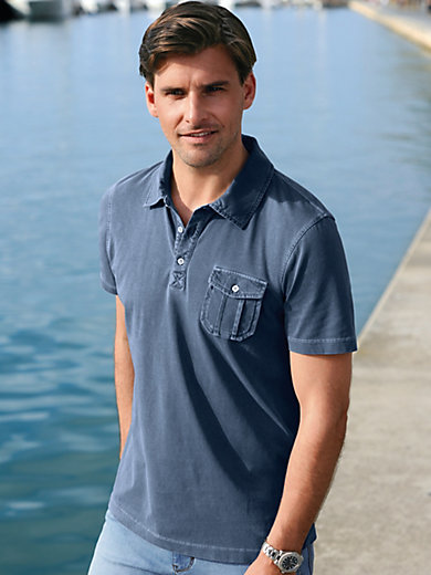 Bugatti - Polo-Shirt mit 1/2-Arm