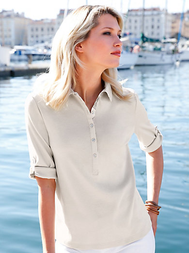 Efixelle - Polo-Shirt mit 3/4-Arm