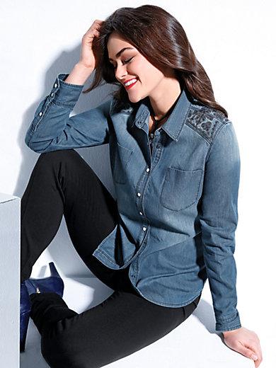 Emilia Lay - Jeansbluse