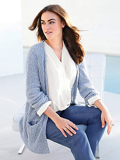 Emilia Lay - Strickjacke aus 100% Baumwolle