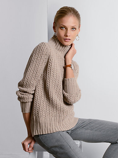 Fadenmeister Berlin - Pullover aus 100% Kaschmir mit Struktur-Muster