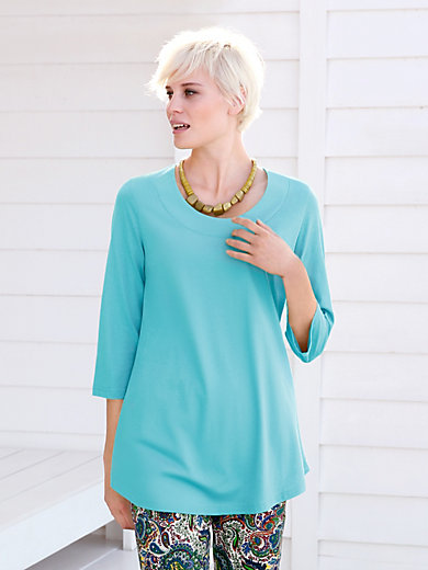 Green Cotton - Long-Shirt mit 3/4-Arm