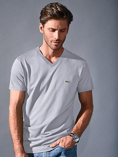 Lacoste - V-Shirt von Lacoste mit 1/2-Arm