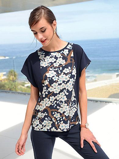 Laurèl - Bluse mit überschnittener Schulter und weiter Form
