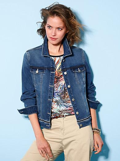 Looxent - Jeans-Jacke im Denim Stretch mit Wasch-Effekten