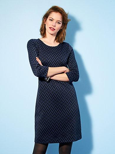 Looxent - Jersey-Kleid in gerader Form und mit 3/4 Arm