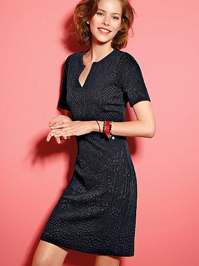 Looxent - Jersey-Kleid, Sommer-Look mit 1/2 Arm und Struktur