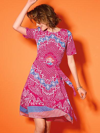 Looxent - Kleid mit 1/2-Arm und Bindegürtel