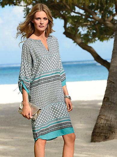 Looxent - Kleid mit 3/4 Raglan-Ärmel zum dekorativen Raffen