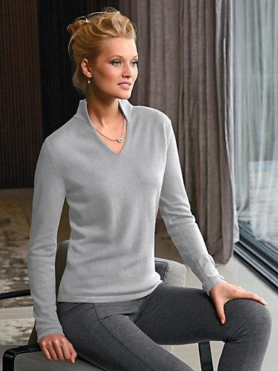 Peter Hahn Cashmere - Stehkragen-Pullover aus100%Kaschmir -Modell VIVIEN