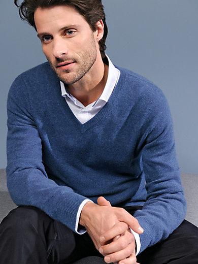Peter Hahn Cashmere - V-Pullover – Modell VALENTIN