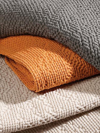 peter hahn berwurf f r couch und bett ca 220x250cm grau. Black Bedroom Furniture Sets. Home Design Ideas