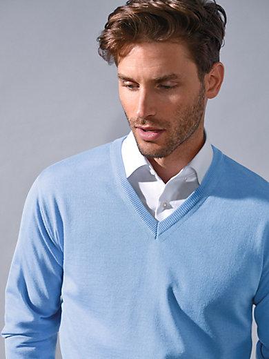 Peter Hahn - V-Pullover aus 100% Schurwolle – Modell MARCO