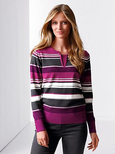 Rabe - Pullover mit 2-in-1-Optik am Ausschnitt