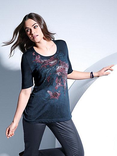 Samoon - Rundhals-Shirt mit 1/2-Arm