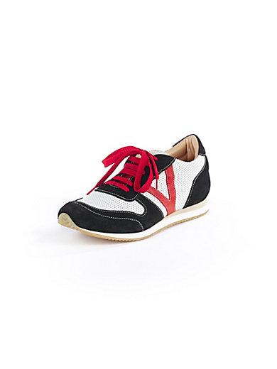 Scarpio - Sneaker in Rindsvelours- und Ziegennappaleder