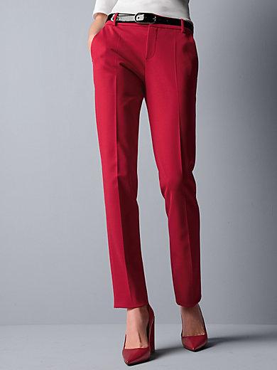 Strenesse - Jersey-Hose mit schmaler Silhouette und Bügelfalte