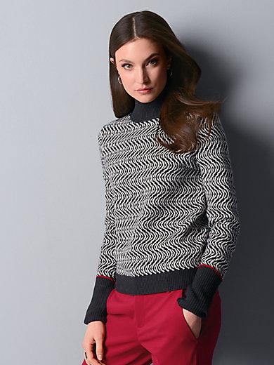 Strenesse - Pullover mit überlangem Ärmel zum umschlagen