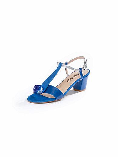uta raasch sandale aus ziegennappa und ziegenveloursleder royalblau. Black Bedroom Furniture Sets. Home Design Ideas