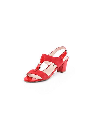 Uta Raasch - Sandale aus Ziegenveloursleder