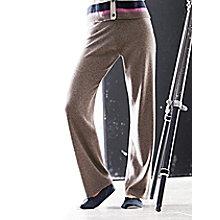 Le pantalon en pur cachemire pour 210€