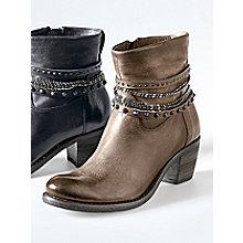 Belmondo Trendige Stiefelette, Khaki female
