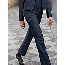Le pantalon 7 8 en pure laine vierge